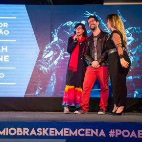Mirah Laline recebe o 14° Prêmio Braskem de Melhor Direção pelo espetáculo O Feio